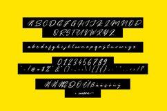 Yellow Pen Script Product Image 6