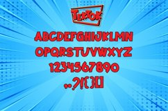 Tektok Comic Font Product Image 2