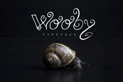 Wooby Script Typeface Product Image 1