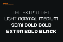 Nura - Variable Font Product Image 6