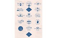 Mooglonk Font + Badges & Brush Product Image 3