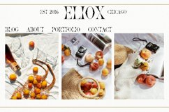 Eliox Modern Serif font Product Image 10