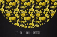 PATTERNS with YELLOW FLOWERS Product Image 5
