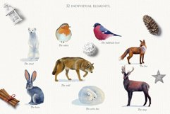 Realistic animals in the forest Product Image 2