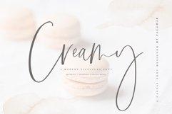 Creamy   Handwritten Font Product Image 1