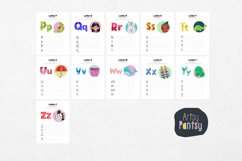 Alphabet Tracing Letters Printable Pages, Alphabet Activity Product Image 4