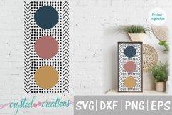 Boho Circles Arrows 12x24 SVG, DXF, PNG, EPS Product Image 1