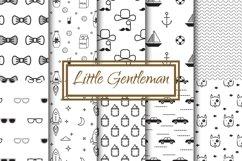 Little Gentleman Seamless Patterns Product Image 1