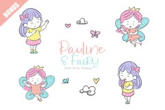 Pauline and Fairy Font Product Image 5