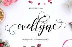 Web Font Evellyne Script Product Image 1