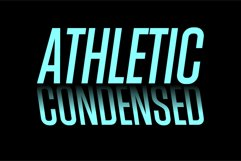 Athletic Condensed Product Image 1