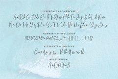 Web Font Benedicty - Handwritten Script Font Product Image 3