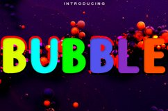 Bubble Product Image 1