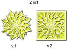 Layered Mandala SVG, Laser cut file, Cricut Mandala, Flower Product Image 5