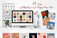 When magic comes.. Christmas clipart Product Image 2
