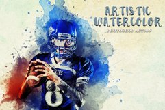 Artistic Watercolor Photoshop action Product Image 1