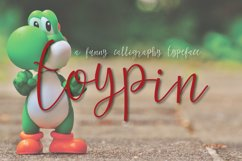 Toypin Typeface Product Image 6