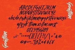Web Font Goutton - Stylized Sans Font Product Image 3