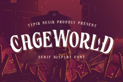 Cageworld Game Font Product Image 1