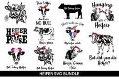 Heifer SVG Bundle, not today heifer svg, heifer please svg Product Image 1