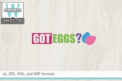 Easter SVG - Got Eggs Product Image 2