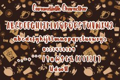 Caramel latte - Bold Handwritten Font Product Image 9