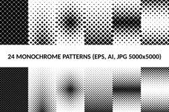 24 Square Patterns AI, EPS, JPG 5000x5000 Product Image 1