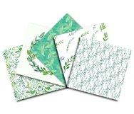 Watercolor Botanical Digital Paper Product Image 2