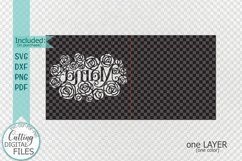 Mama Mothers Day card paper cut template svg dxf Product Image 3