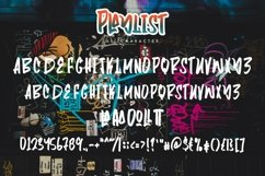 Web Font Playlist - Fancy Graffiti Font Product Image 4