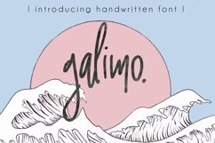Galimo Font Duo Product Image 1