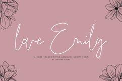 love Emily - Web Font Product Image 1