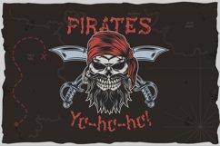 Pirates t-shirt design Product Image 1