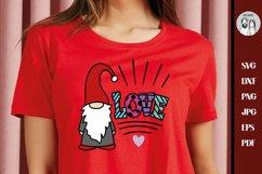 Valentine Gnome | LOVE svg, Gnome Svg, Gnome Sublimation Product Image 2