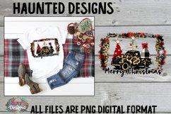 Merry Christmas Tree Sublimation Bundle Clip Art Design Product Image 3