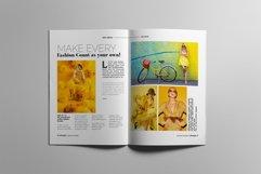 Fashion Magazine Layout Template Product Image 5