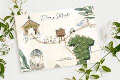 Wedding map creator watercolor Product Image 4
