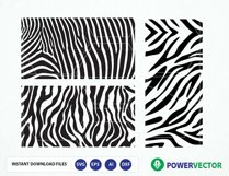 Zebra Pattern svg. Animal Print Svg File. Zebra stripes. Pattern svg, dxf, png. Zebra Pattern Vector Cut files for Silhouette and Cricut Product Image 1