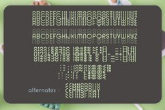 Mint Round - Stacked - Mirrored Font Product Image 3