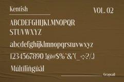Kentish Typeface Product Image 2
