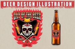 vector beer design illustration Product Image 5