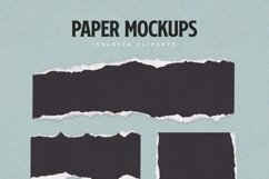 Torn Paper Cliparts & Mockups Product Image 3