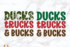Ducks Trucks & Bucks Grunge Distress SVG Product Image 4