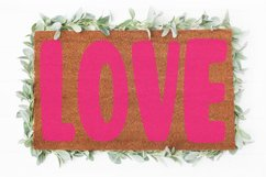 Love Doormat svg   Valentine svg   Welcome sign svg  Love Product Image 2