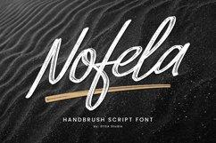 Nofela - Handbrush Script Product Image 1