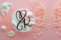 CLN - Monohearts - A Monogram Heart Font with Extra Doodles Product Image 3