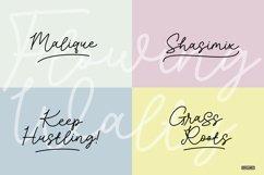 Flowing Waltz - A Stylish Signature Font Product Image 5