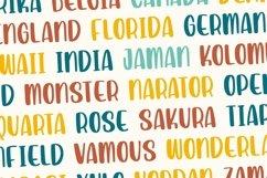 Septaria | Playfull Handdrawn Font Product Image 6