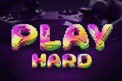 Pixcraft - Color Bitmap Font! Product Image 4