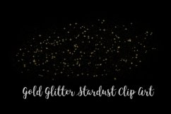 Gold Glitter Stardust, Transparent PNG Product Image 6